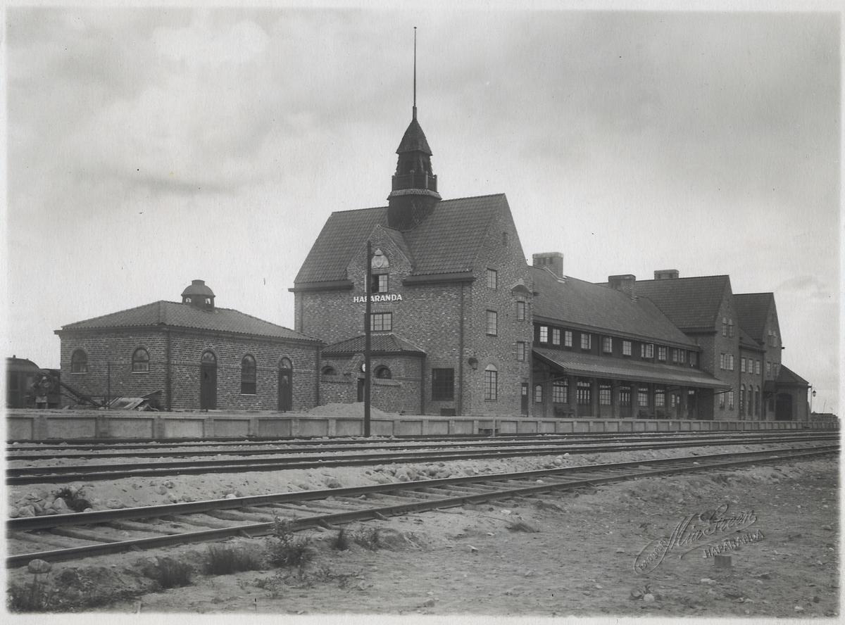 Haparanda stationshus.