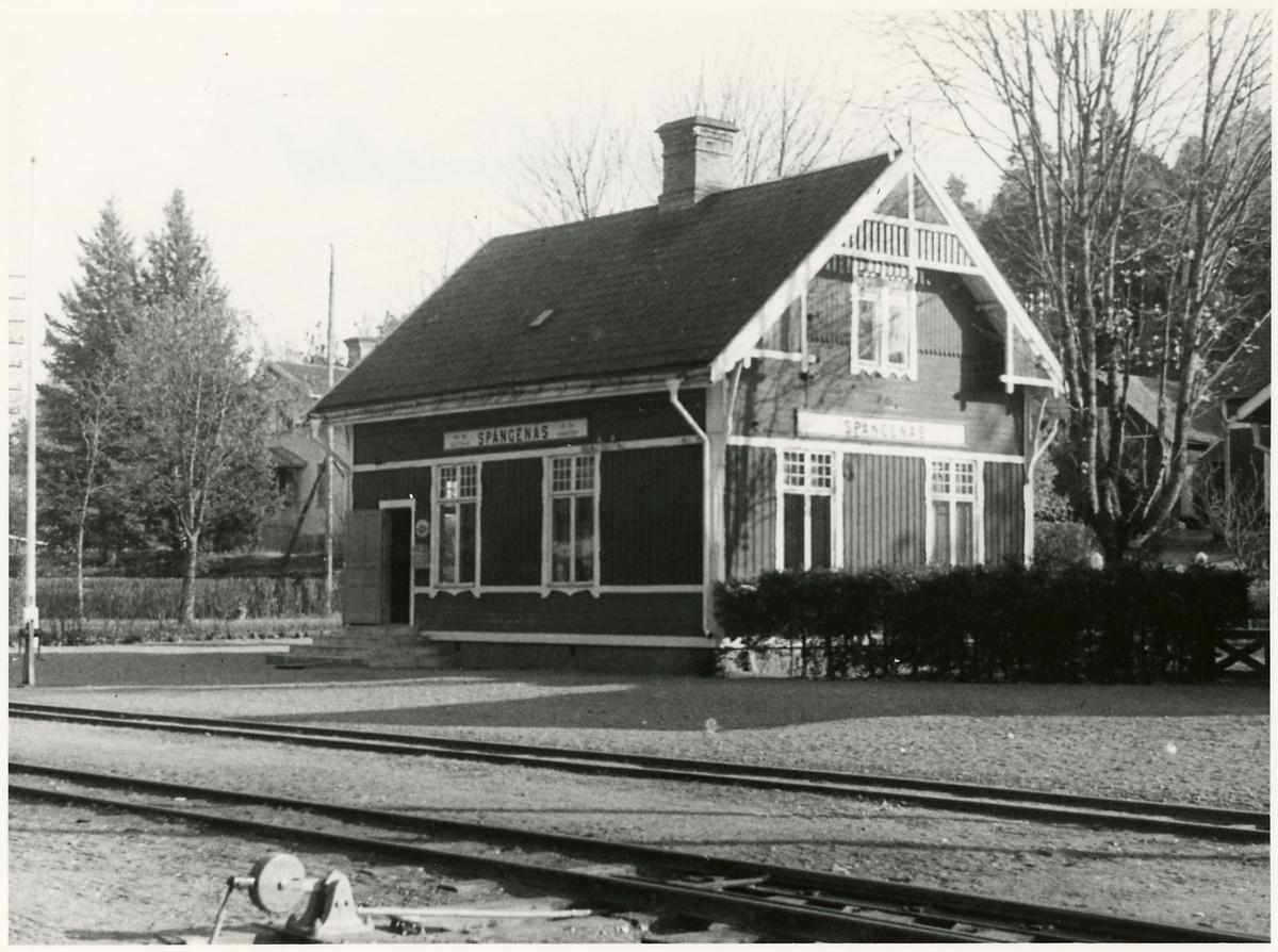 Spångenäs station.