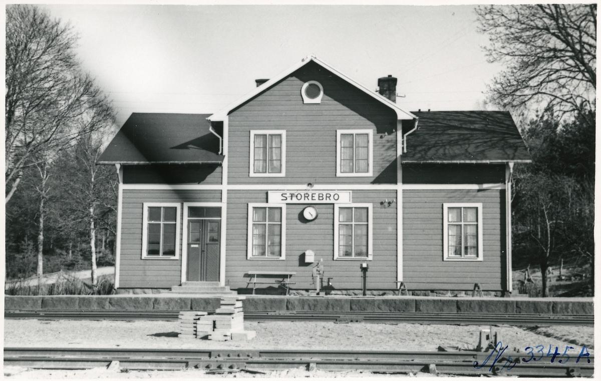 Storebro station.