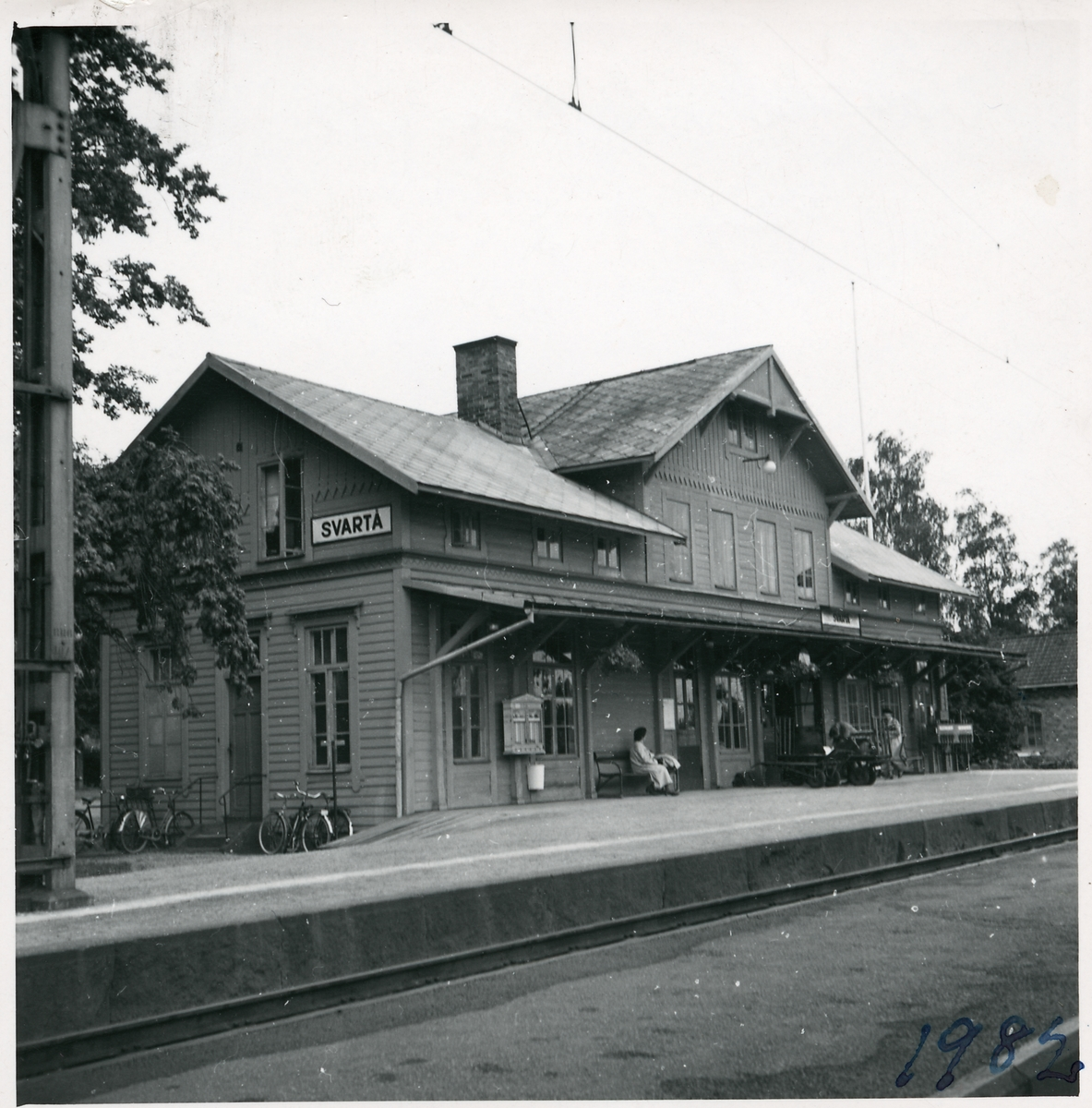 Svartå station.