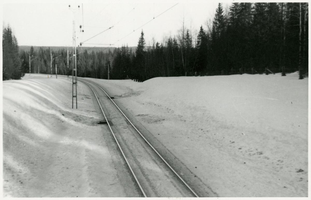 Flänssmörjningsapparat på sträckan mellan Nyåker och Lillslätt.