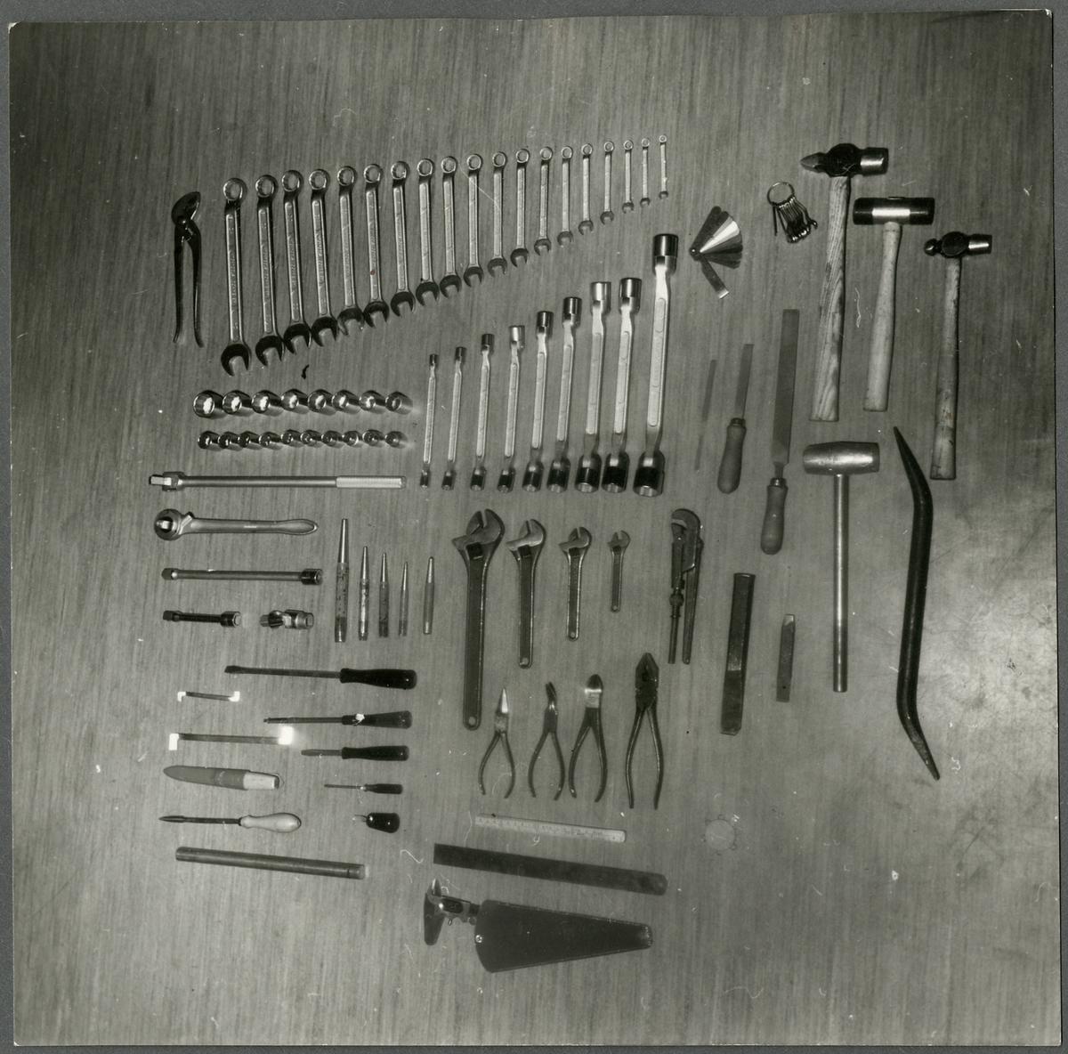 Detaljbild - Diverse verktyg.