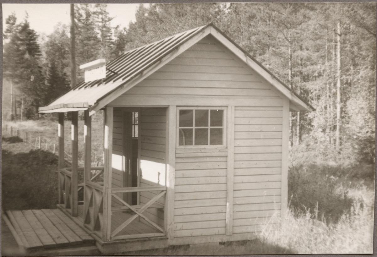 Hållplatsbyggnad Lerhyttan.