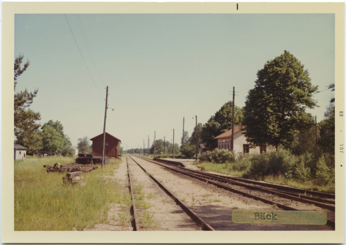 Bäck station.