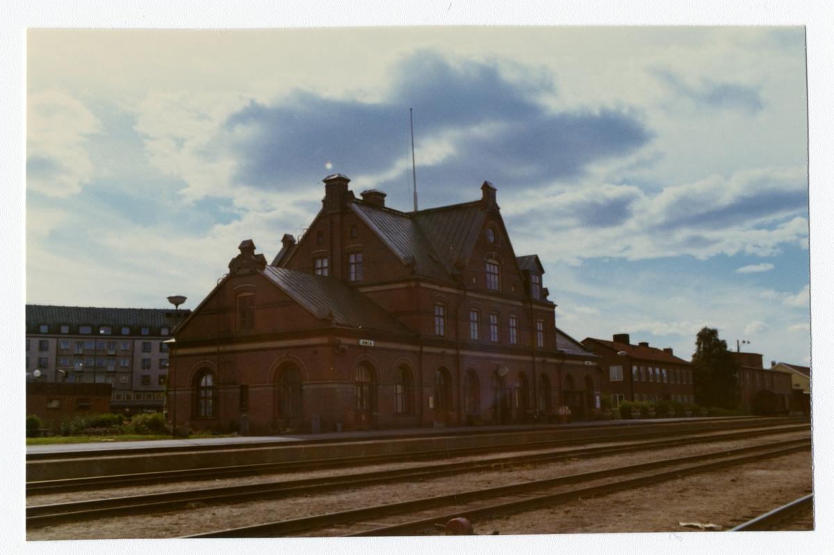 SJ, Statens Järnväg. Stationen byggdes 1896