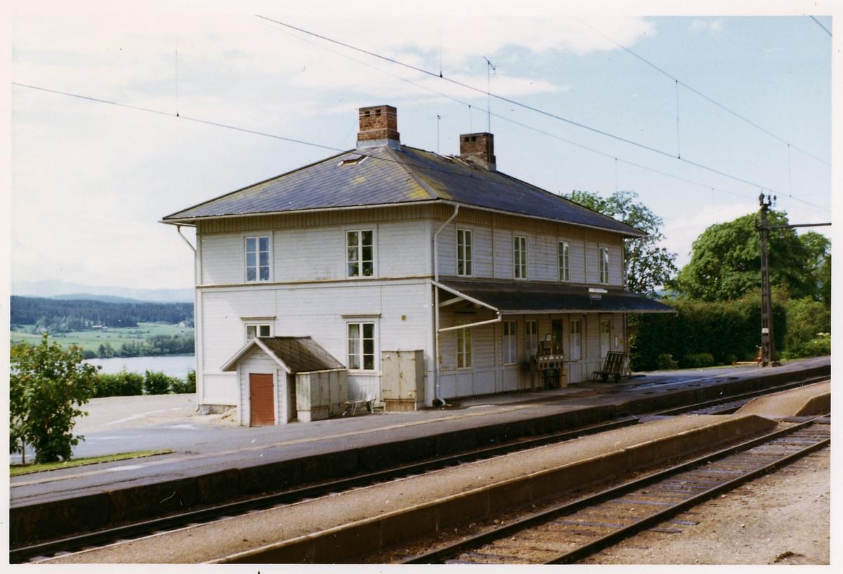 Fränsta station.