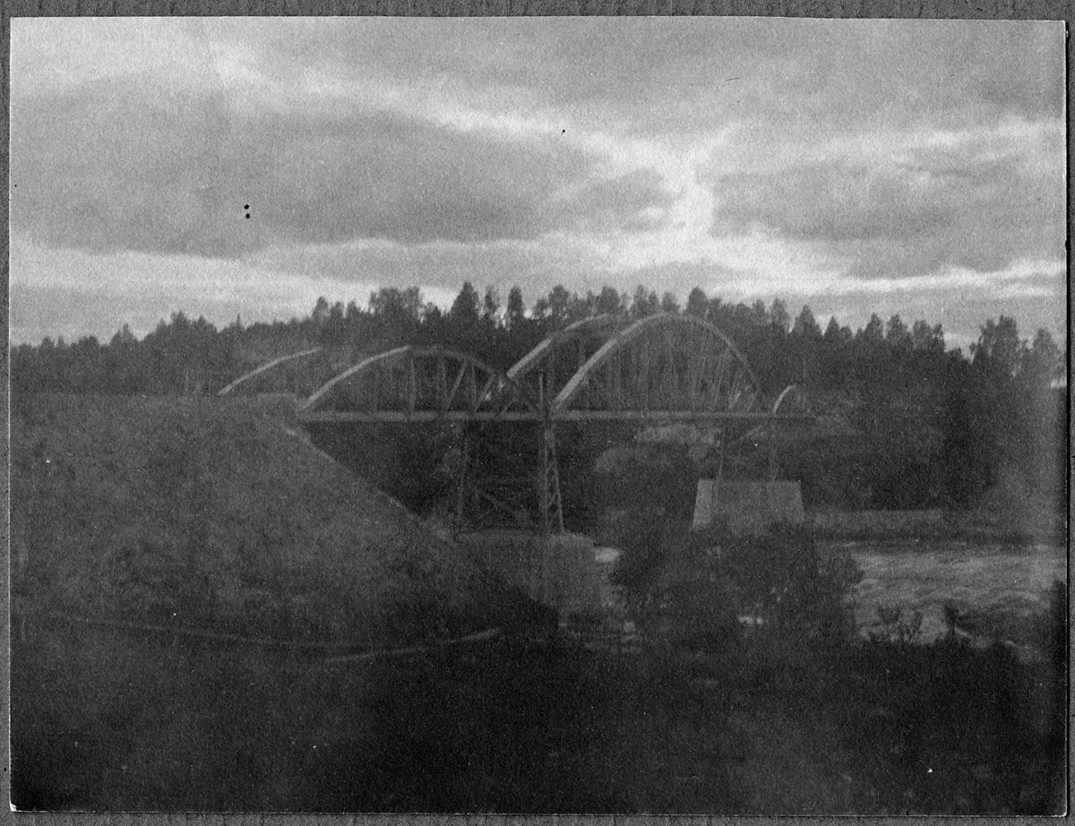 Järnvägsbro vid Forshuvud.