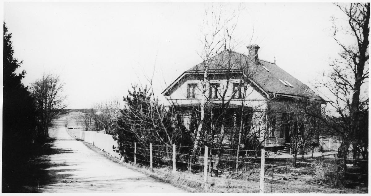 Järnvägsbyrån under byggnadstiden