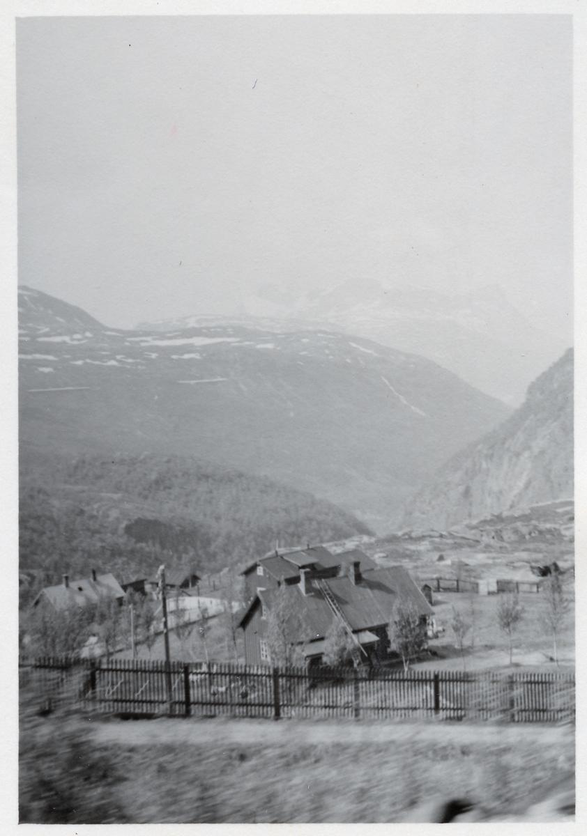 Vy i Norge under andra världskriget.