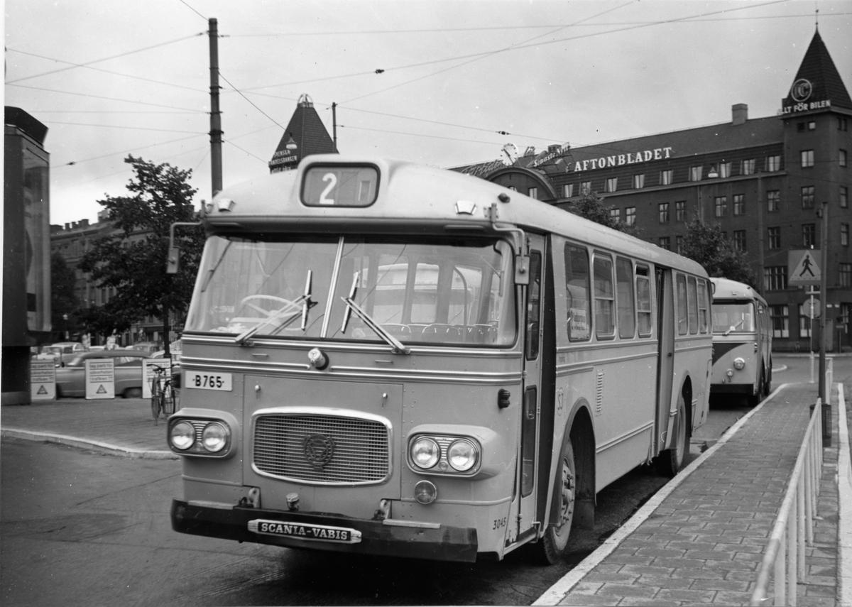 Statens Järnvägar, SJ buss 3045.