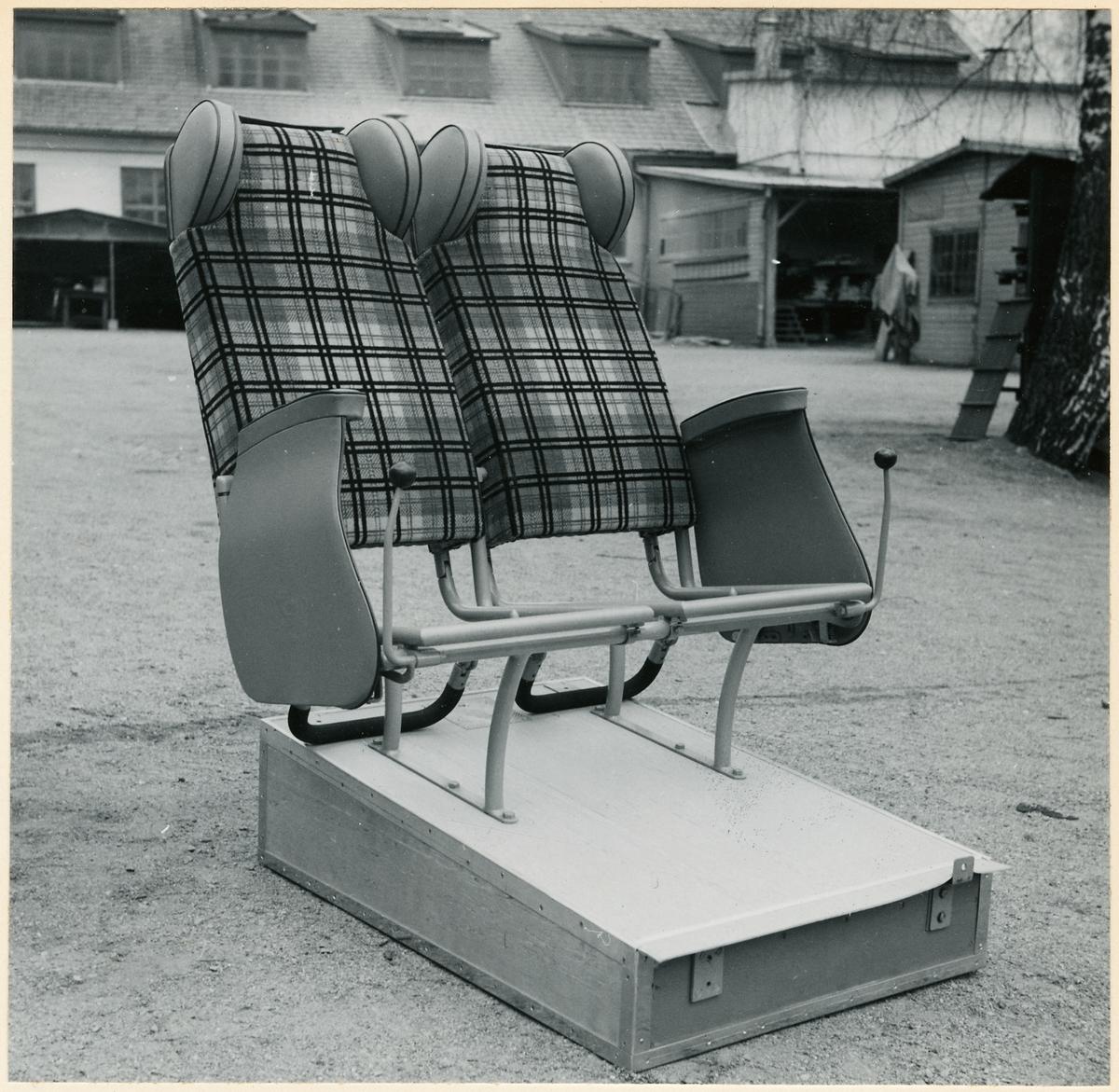 Passagerarstolar till buss.