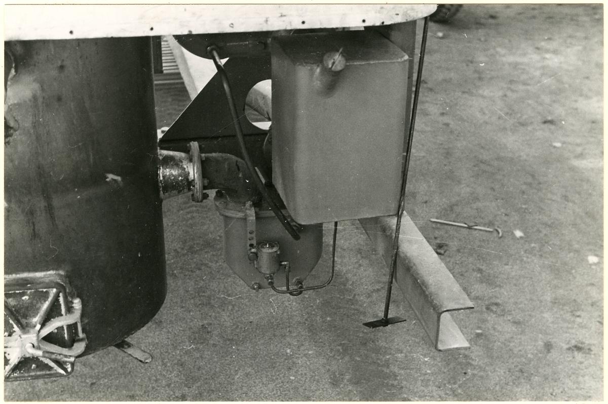 Detaljbild av gengasaggregat.
