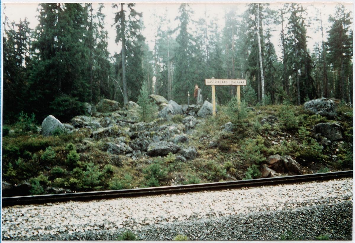 Vid länsgränsen mellan Gästrikland och Dalarna