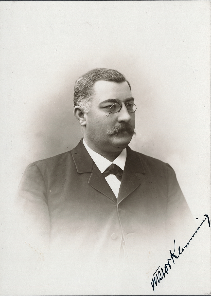 Maskininspektör Victor Leonard Klemming.
