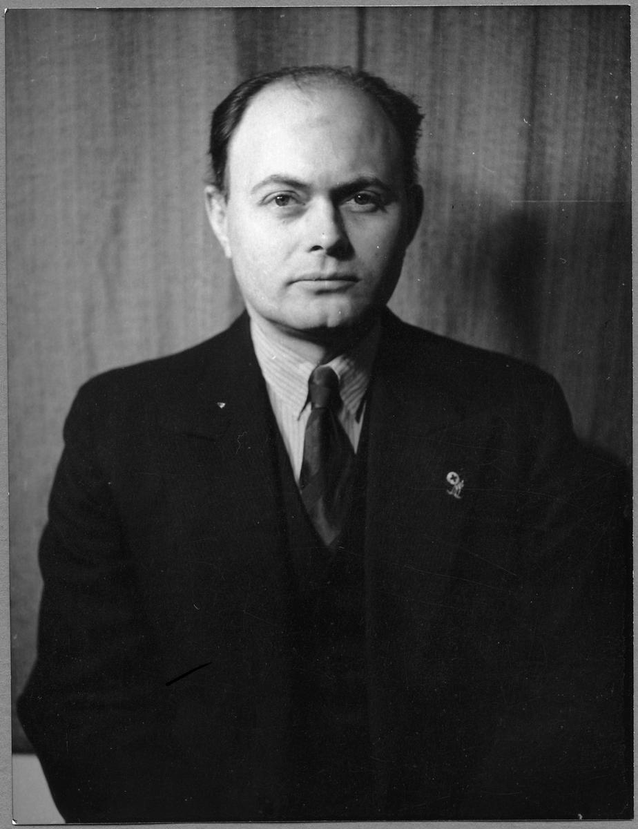 Bangårdsmästare Bertil Svensson.