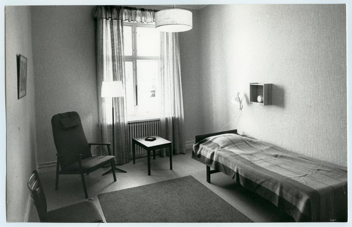 Personalutrymme för Trafikaktiebolaget Grängesberg – Oxelösunds Järnvägar, TGOJ personal i Eskilstuna Central.