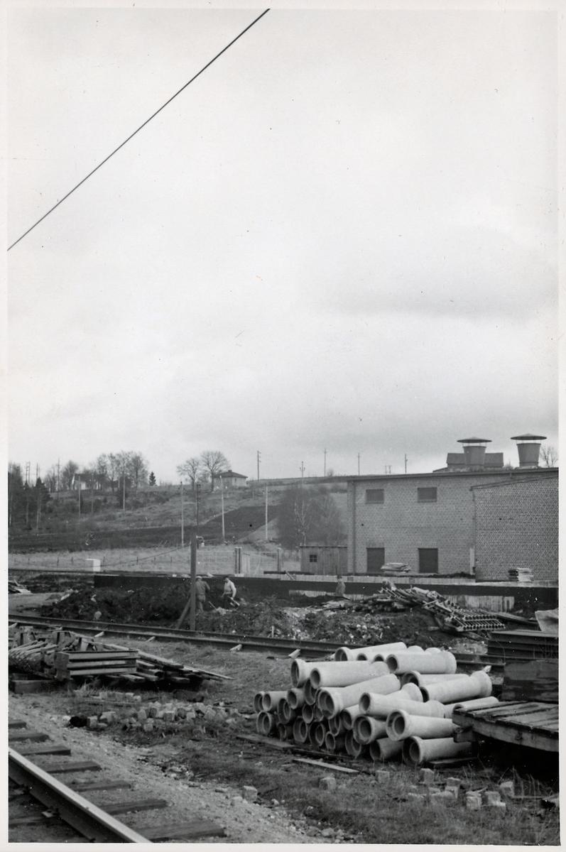 Omformarstationen i Sjömarken.