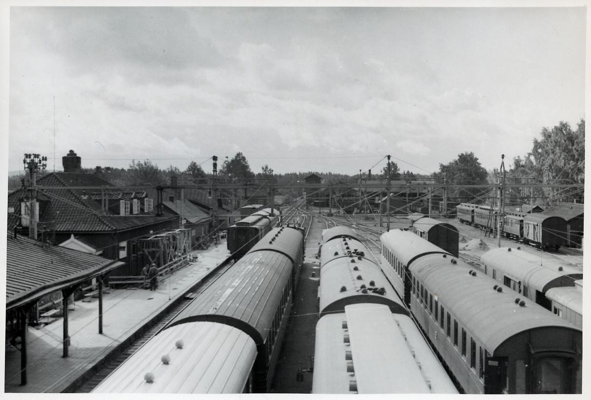 Charlottenberg station.