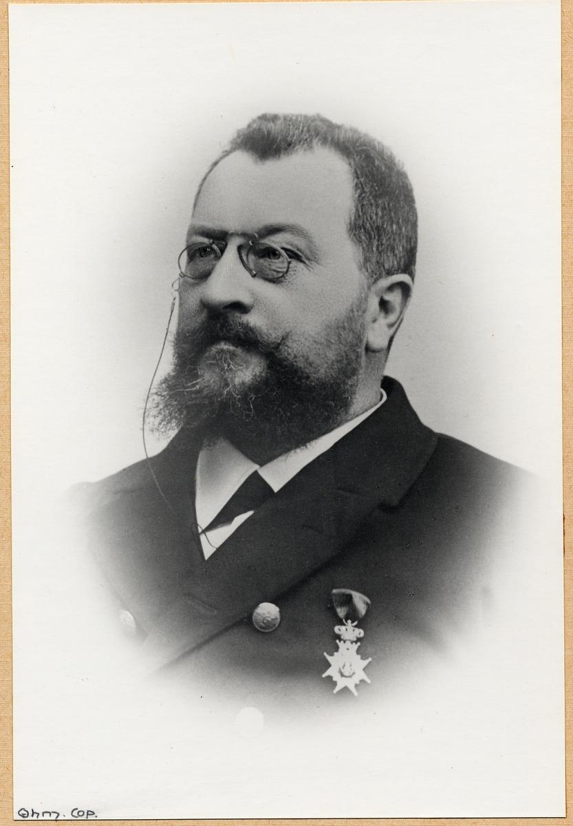O.F. Lenander född 1841 död 1905 III:e distr Malmö distr kontor