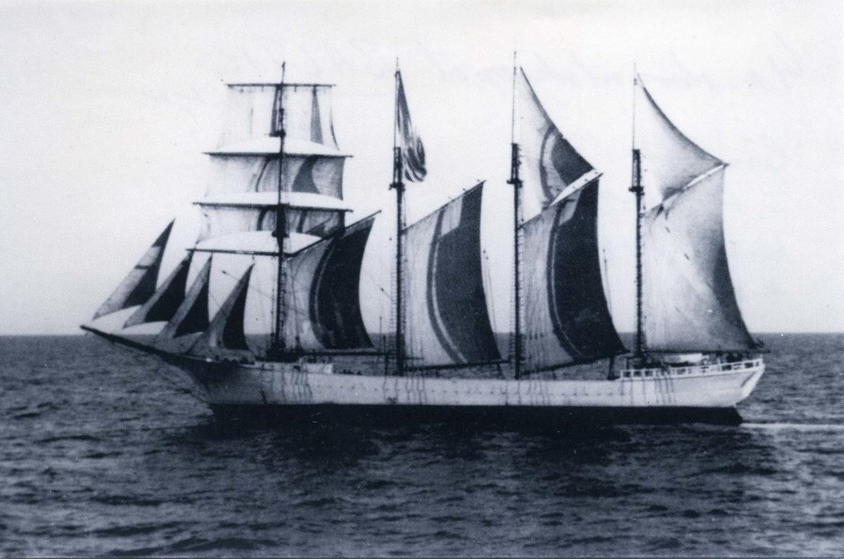 Fyrmastade skonertskeppet Baltic ägdes av Gustaf Erikson 1924-1939