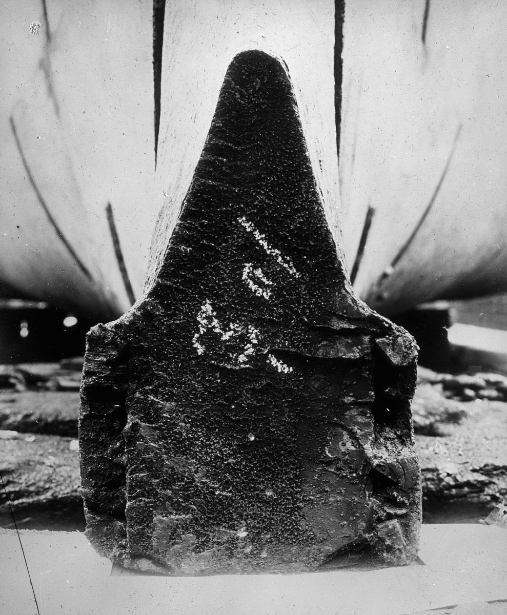 En stein med innskrift 301.