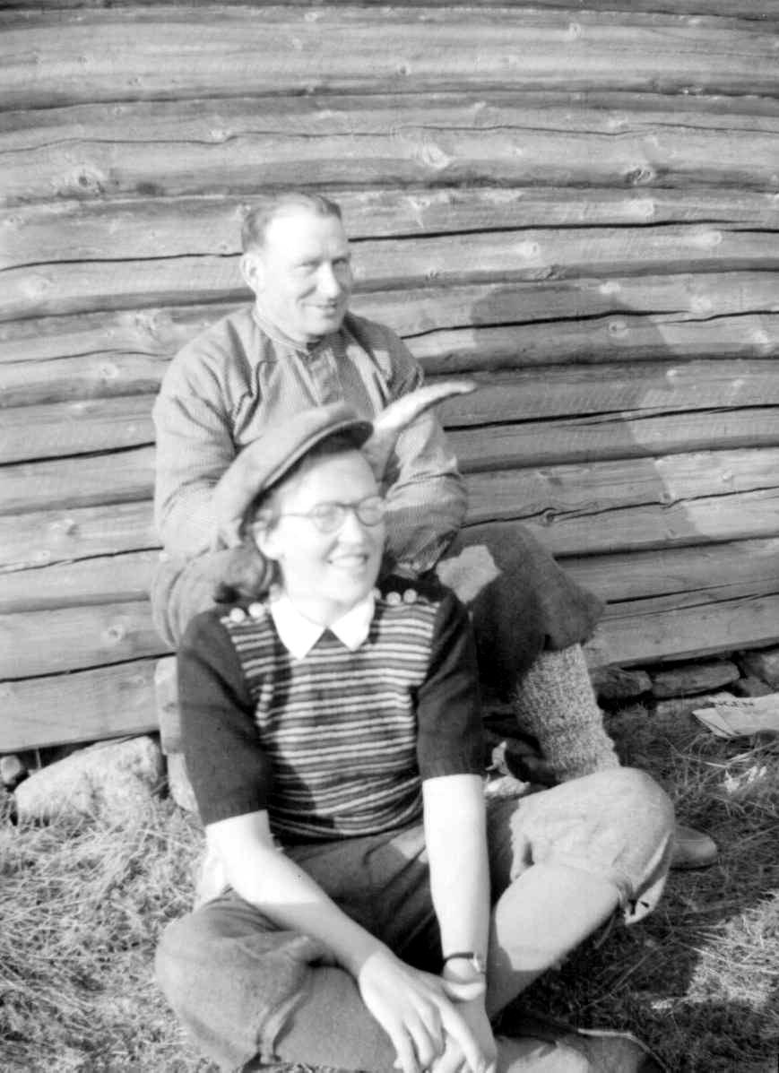 Thor Oueren og Karen Kamstrup