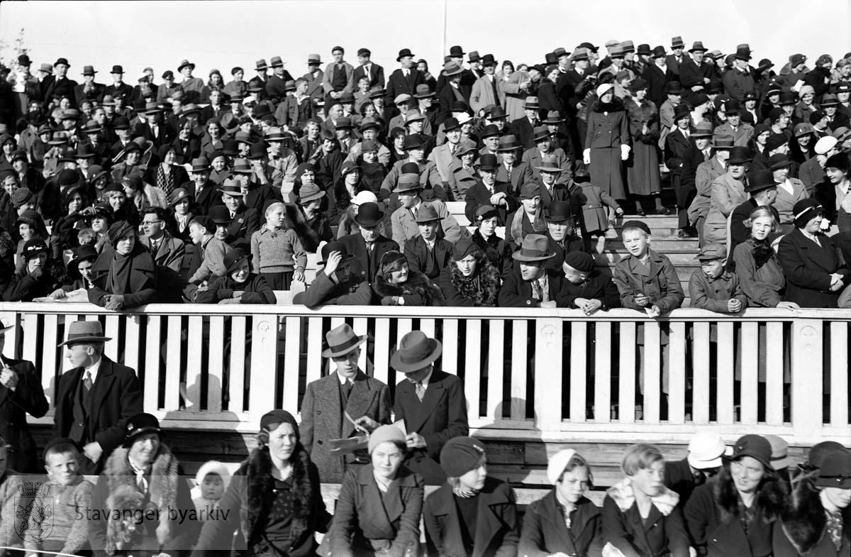 Marsjkonkurranse på Stavanger Stadion