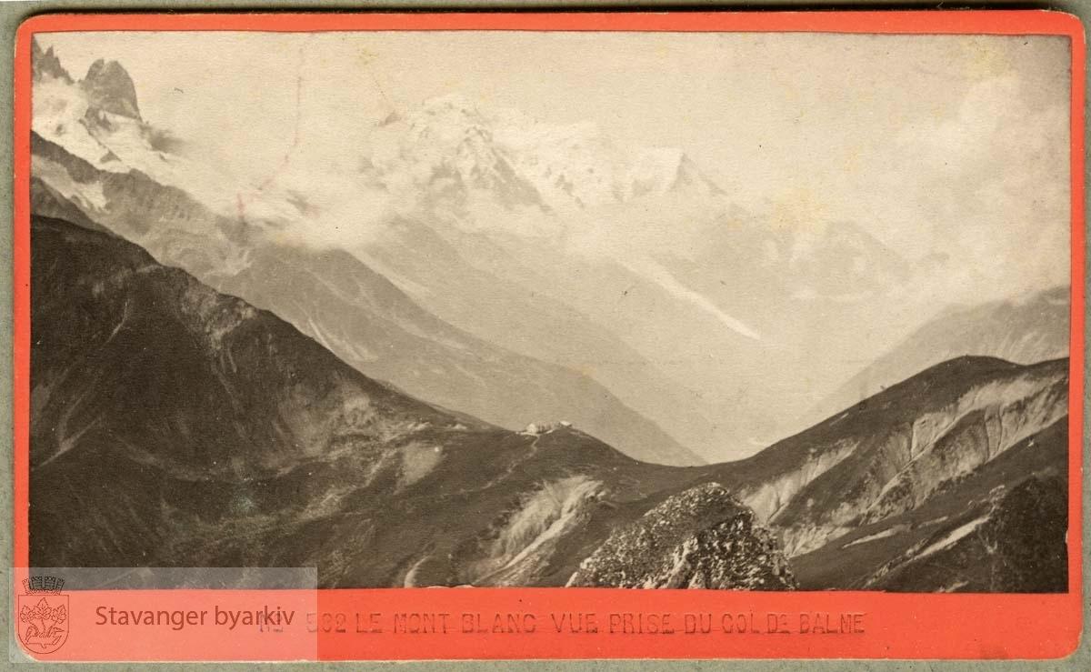 Col de Balme, besteget 30. juni 1884.