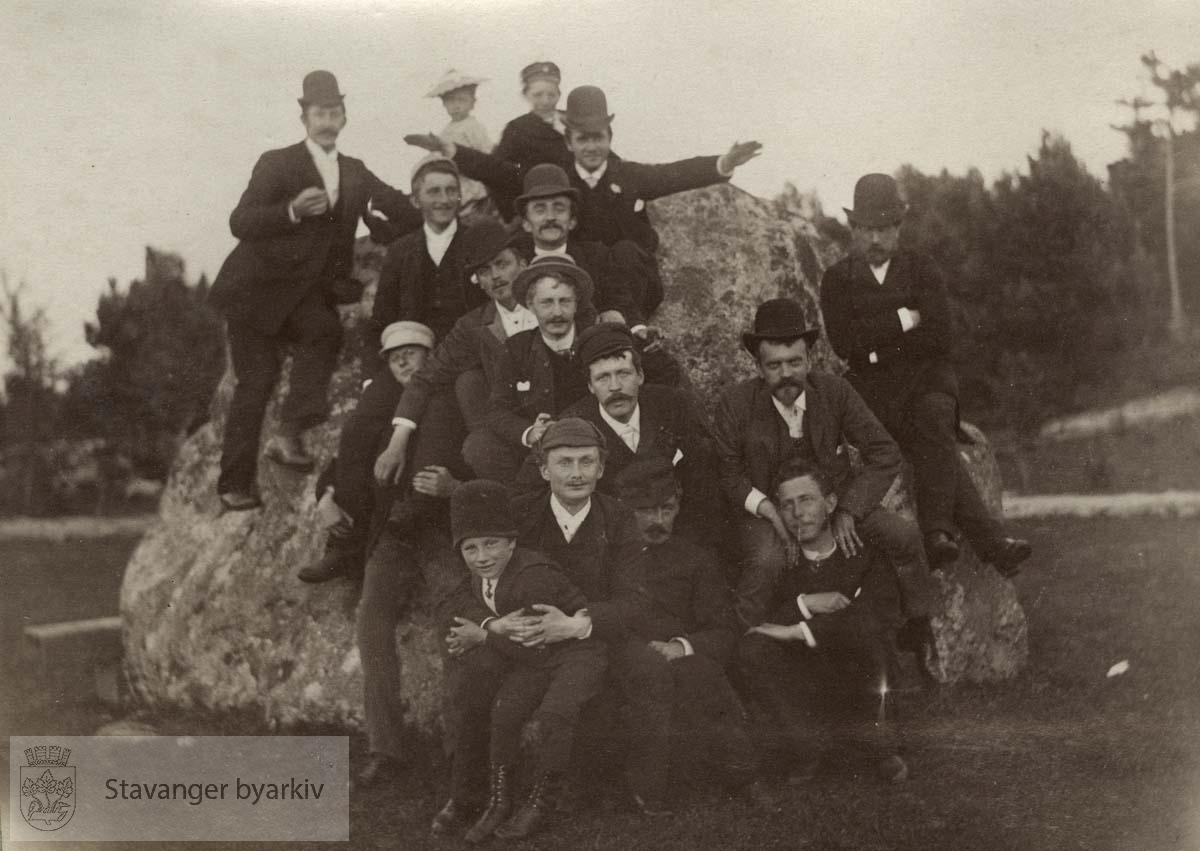 Gruppebilde på Kalvøen