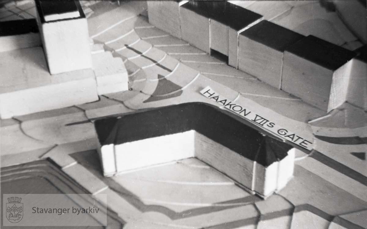 Modell av Haakon VIIs gate