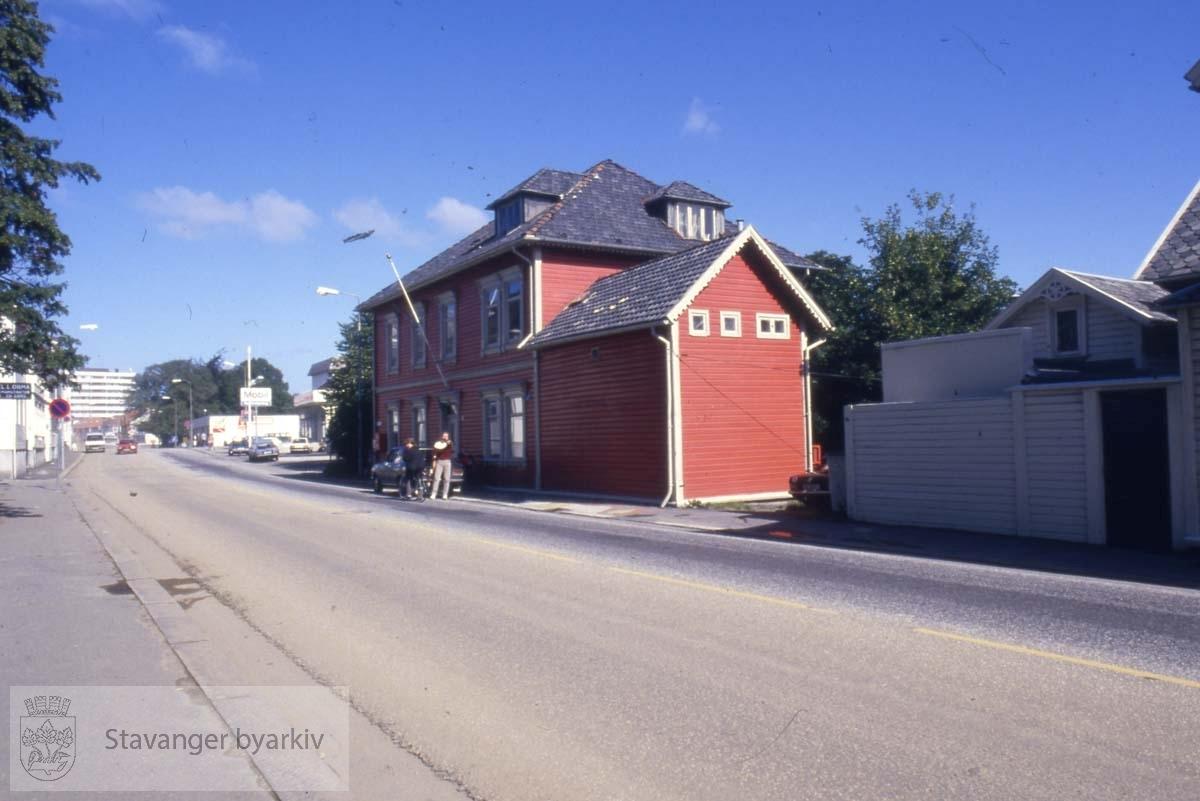 Fra før byggingen av nytt Kvartal rundt St. Olavs gate