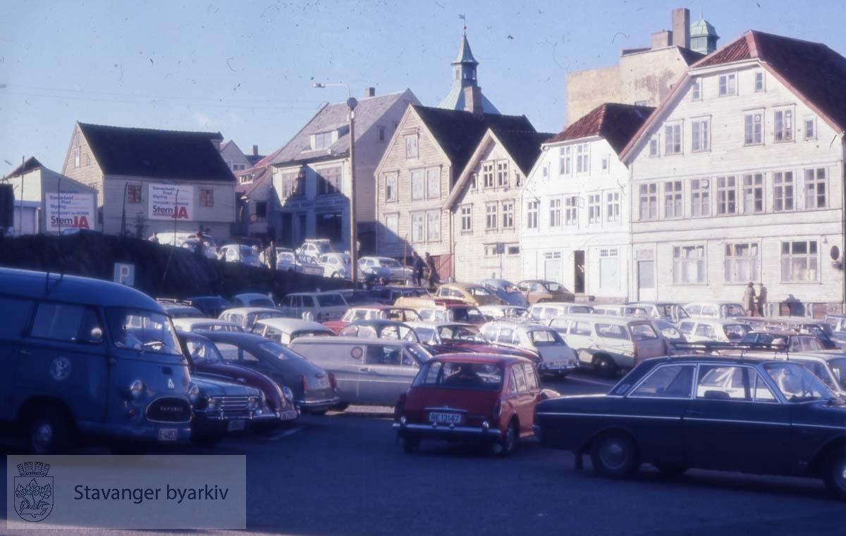 Kinotomten på Sølvberget - provisorisk parkeringsplass