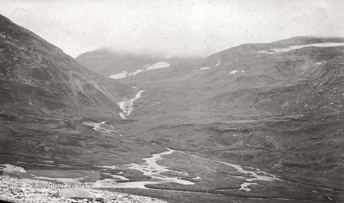 Landskap sett fra Bergensbanene