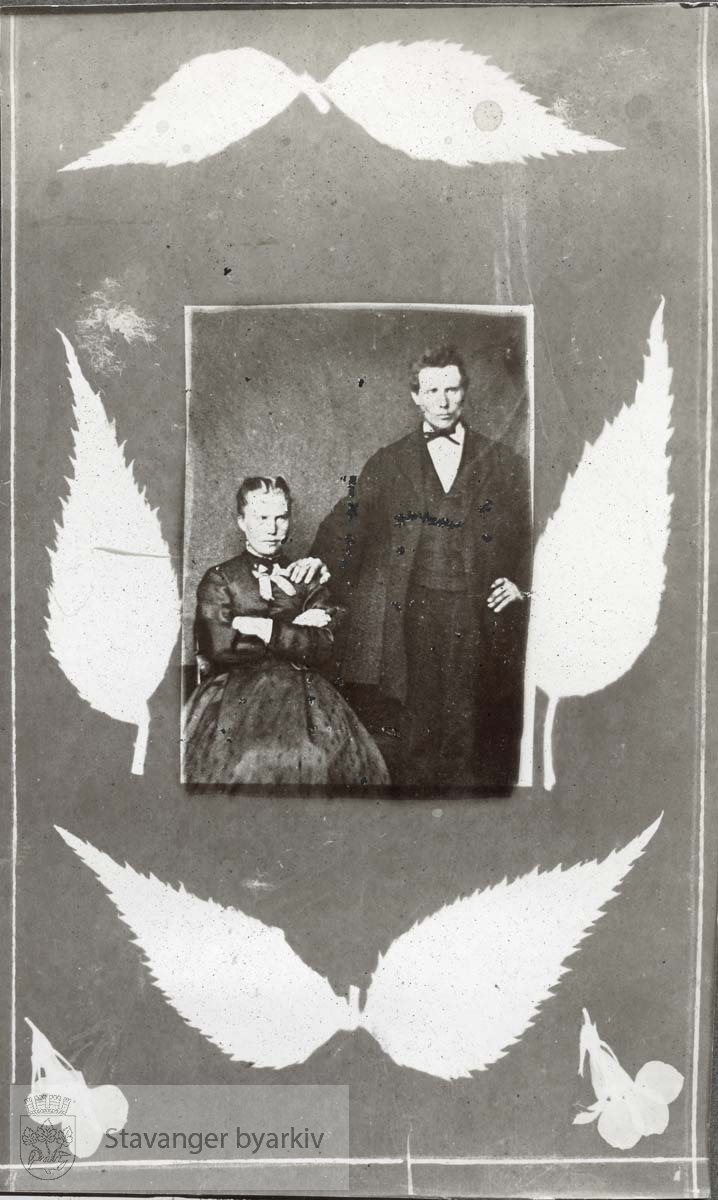 Portrett av ektepar