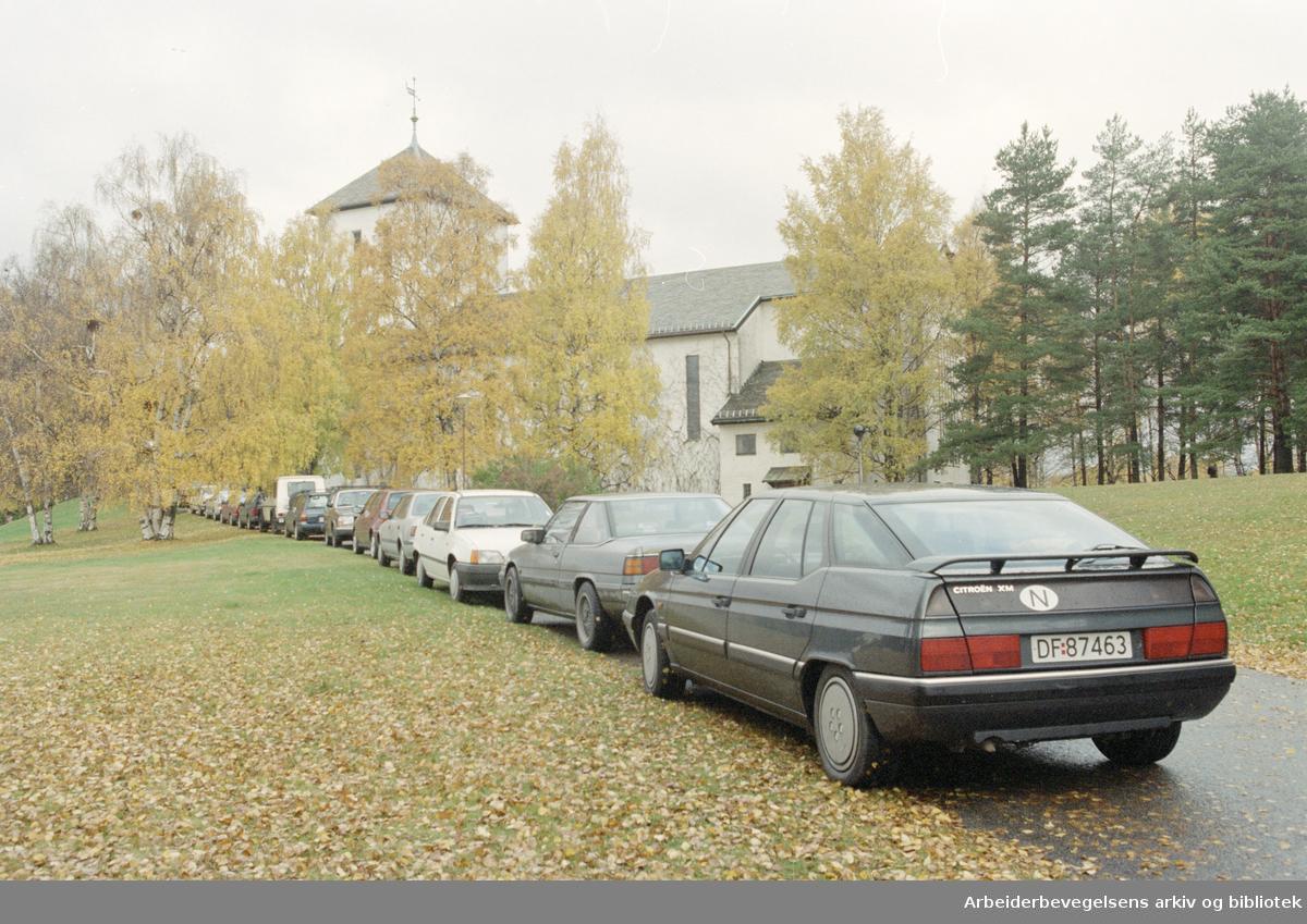 Grefsen kirke. 19. oktober 1996