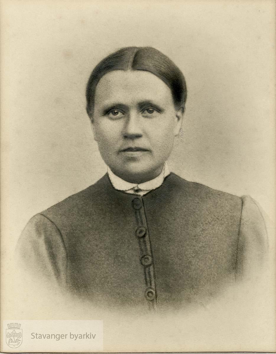 Portrett av dame