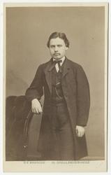 Porträtt av kamrer Carl Gustaf Lundell.