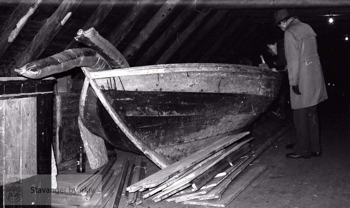 Båt, seksæring(?), tilhører Sjøfartsmuséet