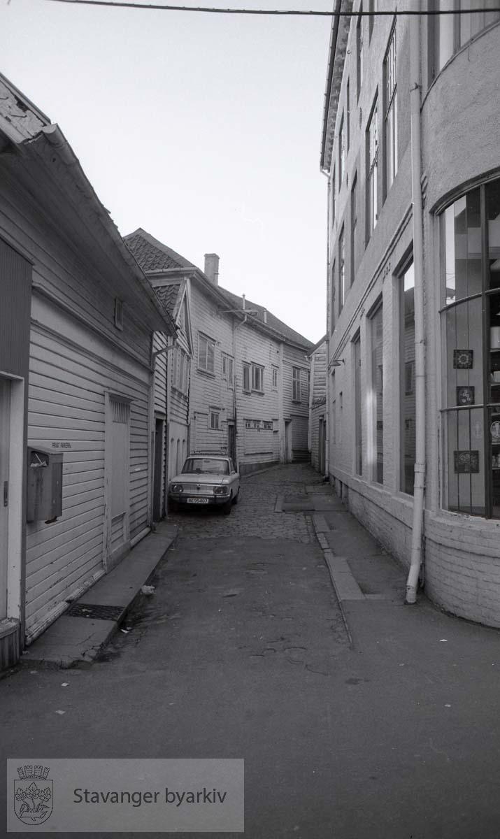 Smug, mellom Breigata og Steinkargata