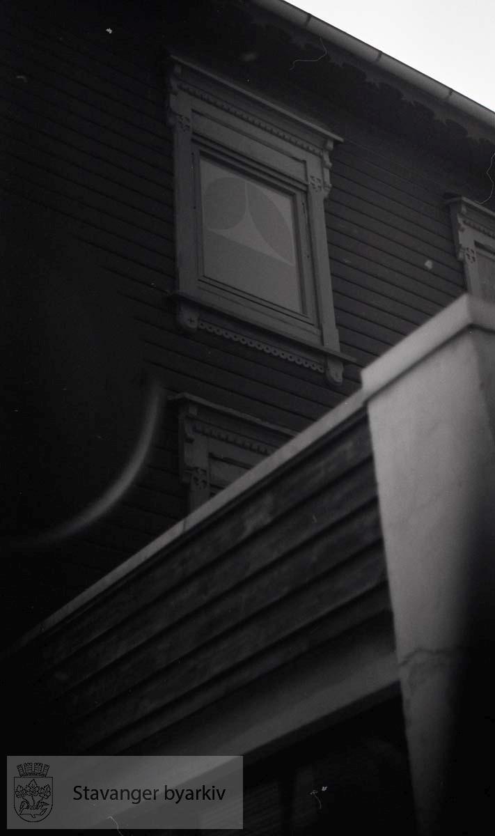 Detalj, vindusbelisting
