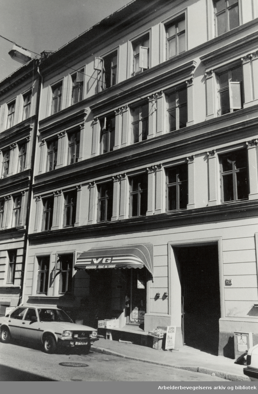 Grünerløkka. Markveien 20. 18. august 1988