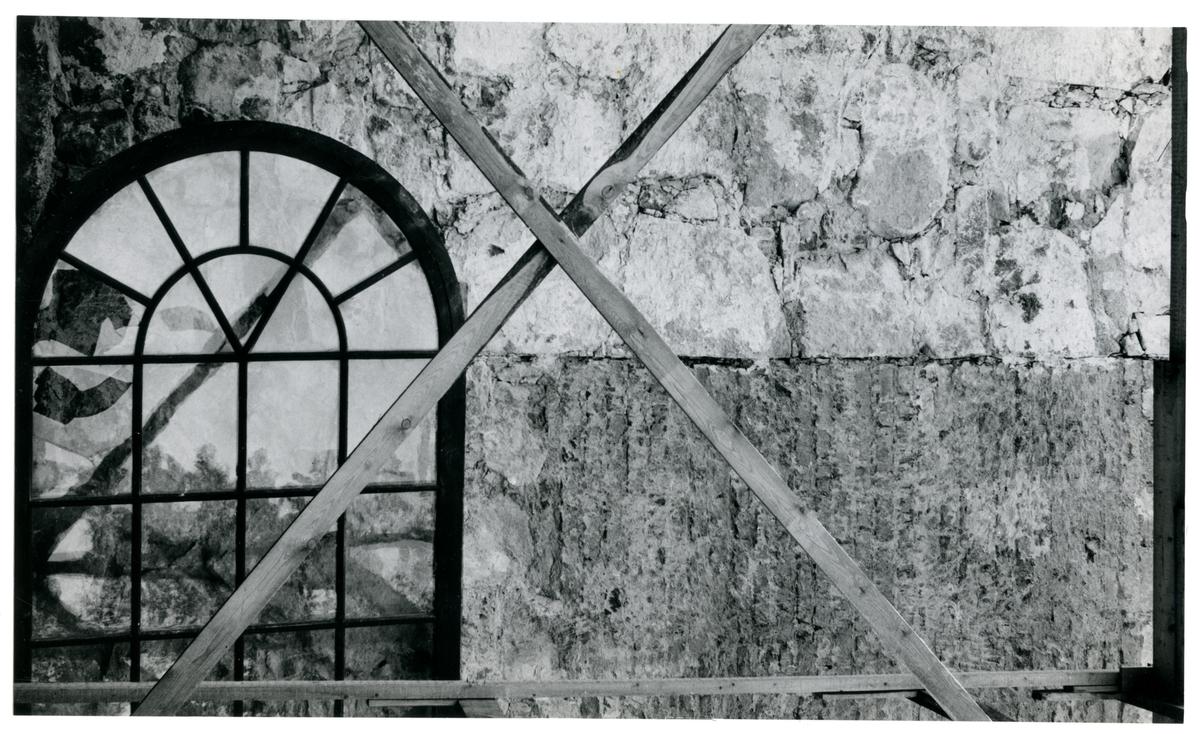 Badelunda sn, kyrkan. Restaurering av kyrkan 1959.