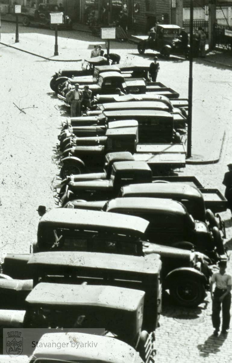 Parkerte biler