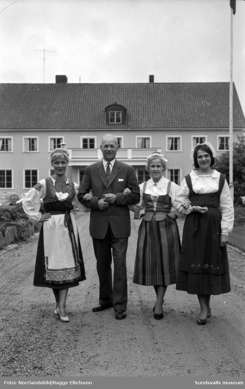 Ålsta folkhögskola i Fränsta har avslutning på sommarkursen.