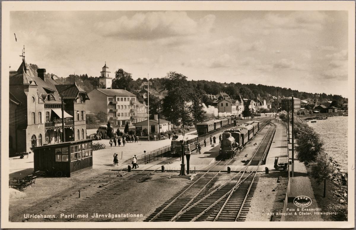 Ulricehamn station.