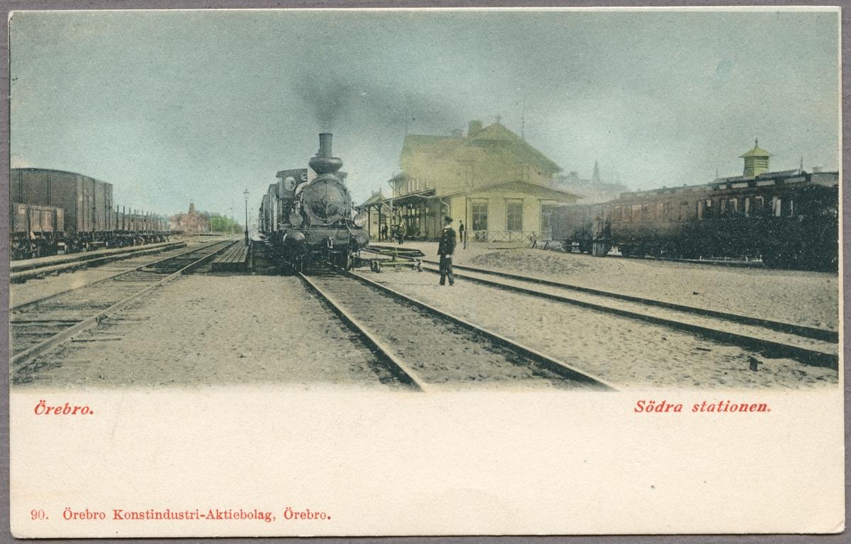 Örebro Södra station.