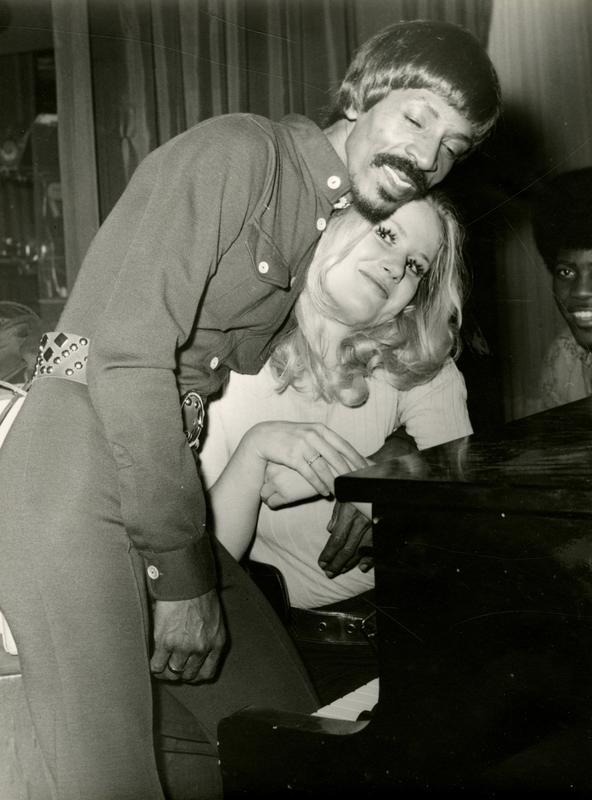 Med Ike Turner, på Palais d'Hiver. Foto: Privat. (Foto/Photo)