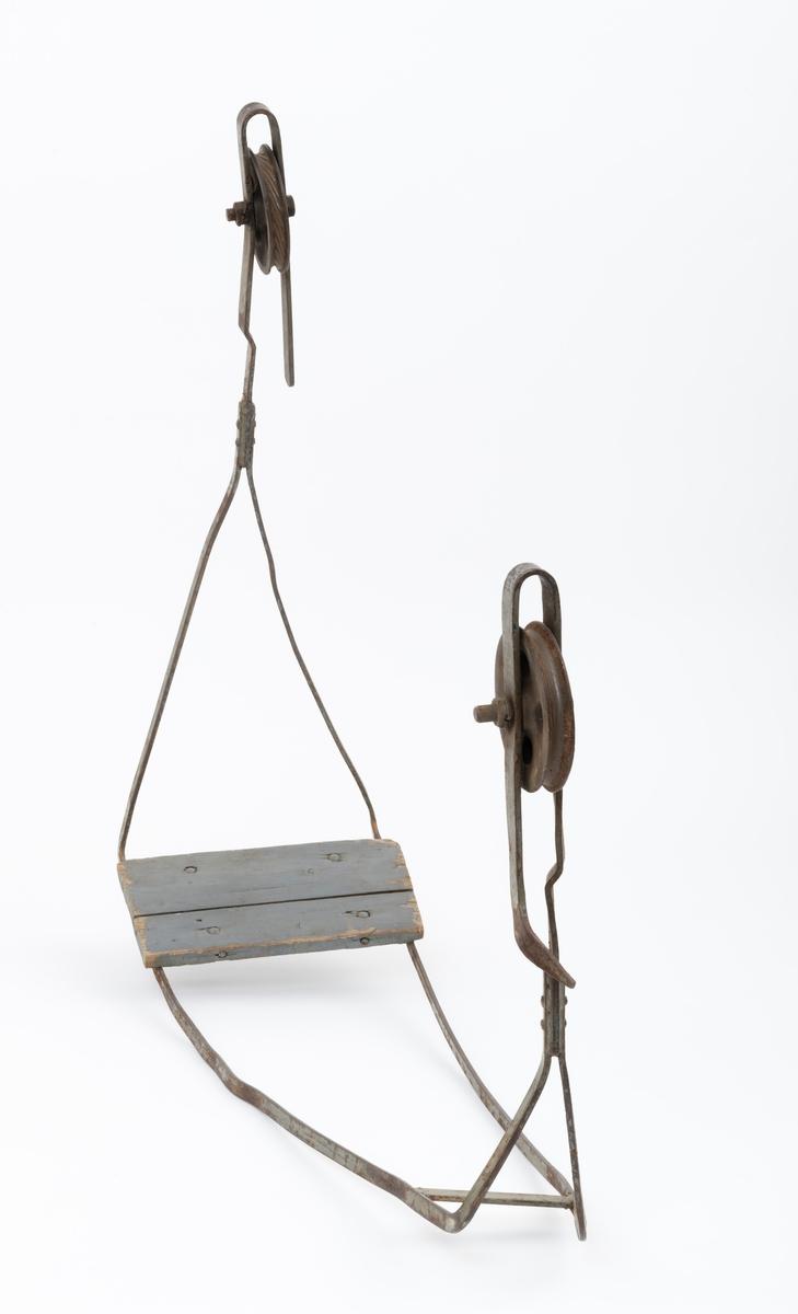 Fløterstol Anno Norsk skogmuseum DigitaltMuseum