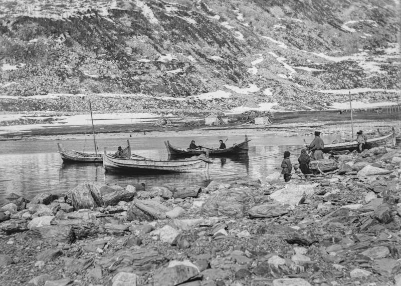 Sjøsamer på fiske (Foto/Photo)