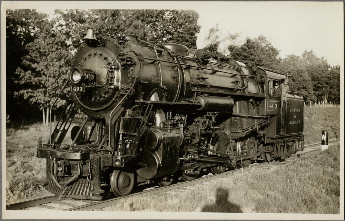 Boston and Albany Railroad, B&A D-1a 403.
